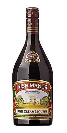 Irish Manor Irish Cream Liqueur